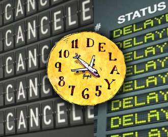 dicas para atrasos e cancelamentos de voos